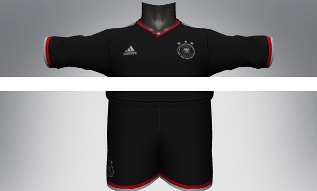 Germany 2014 World Cup away kits