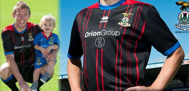 New Inverness Caledonian Thistle Strip