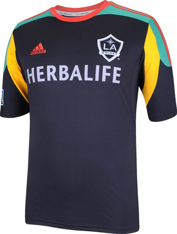 finest selection 25798 c4387 La Galaxy Kit 2013/14 Home Away 3rd Jerseys Official