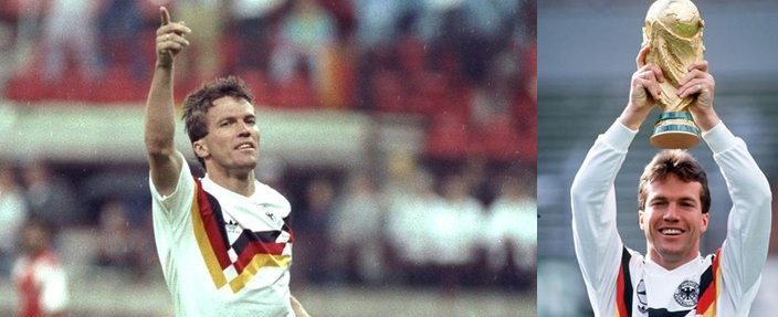 Lothar Matthaus all time best midfielder defensive