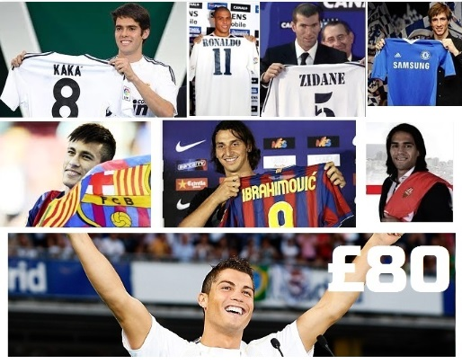 Top 10 Expensive transfers in football