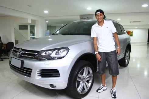 Neymars cars 2013
