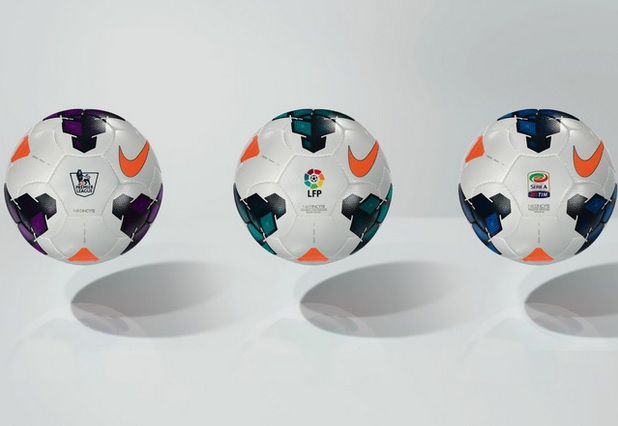 Nike Incyte Balls EPL, La Liga, Serie A 2014