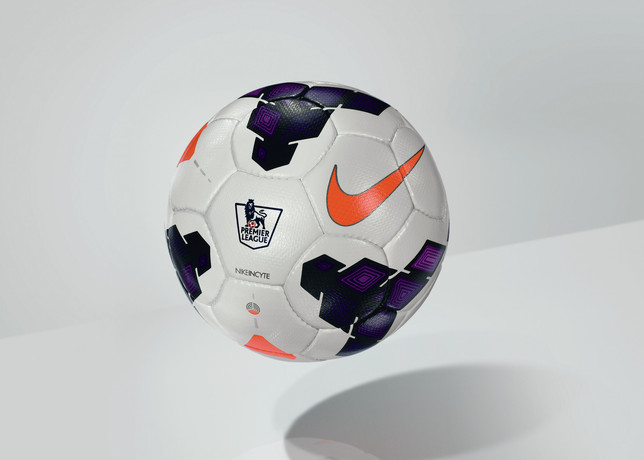 Premier League match ball Nike incyte