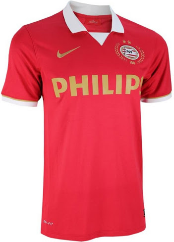 PSV 2013-2014 home shirt front image