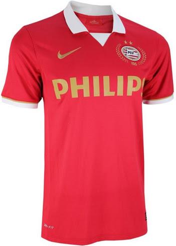 PSV 2013-2014 home shirt front image