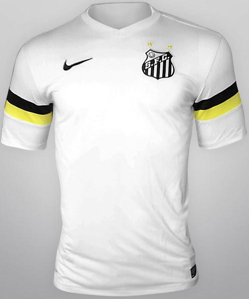 Santos home shirt