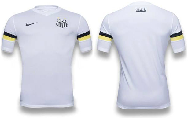 Santos official home shirt