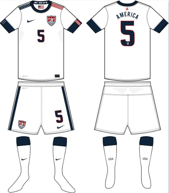 47d0e21fa USA Kits 2014 World Cup USMNT Home Jersey Leaked