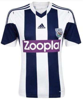 West Brom home kit 2013-14