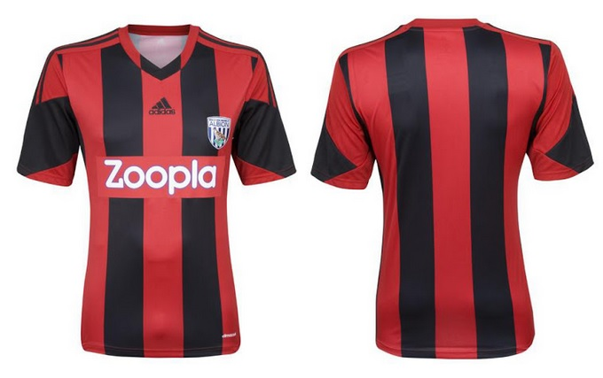 West Brom Away kit 2014