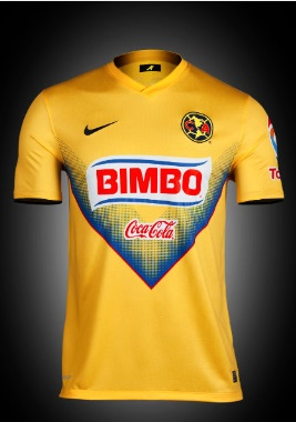 the best attitude 7415e 0d0de Club America Kits 2013-14 Home Away Jerseys New
