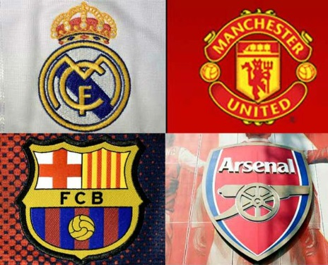 Top 10 richest footbal clubs in the world