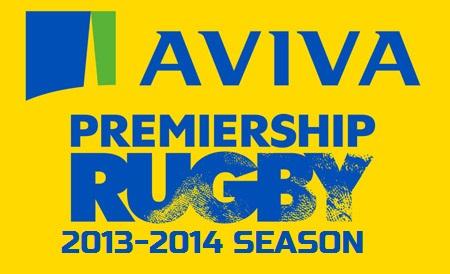Aviva Premiership Rugby Fixtures 2014