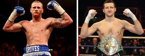 Froch vs Groves Fight date