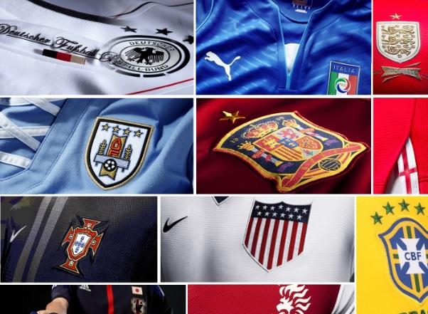 various colors c8224 8d0b4 FIFA World Cup 2014 Kits - Official Jerseys