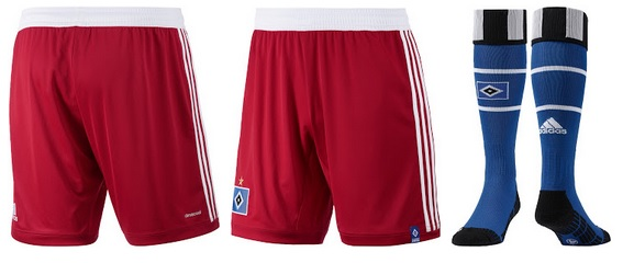 Hamburger official home kit shorts
