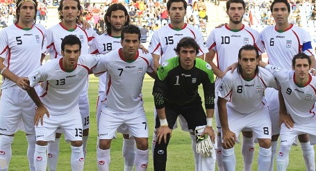 Iran Official kit FIFA world CUp 2014