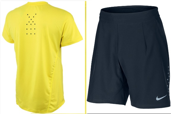 Nadal US Open 2013 outfit shorts