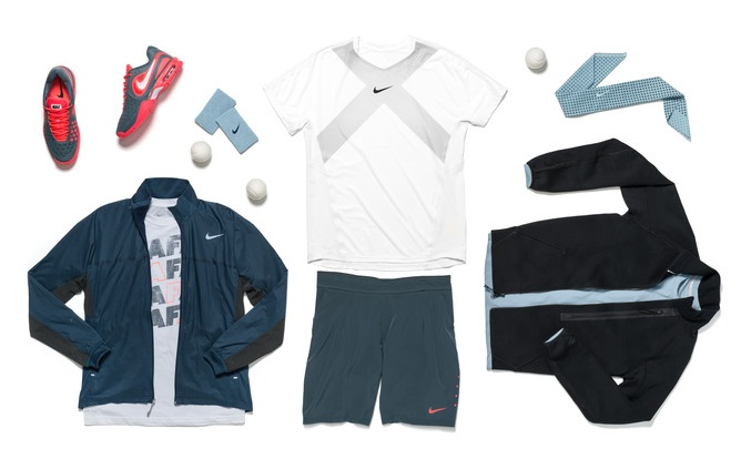 Rafael Nadal Nike Official US Open outfit 2013