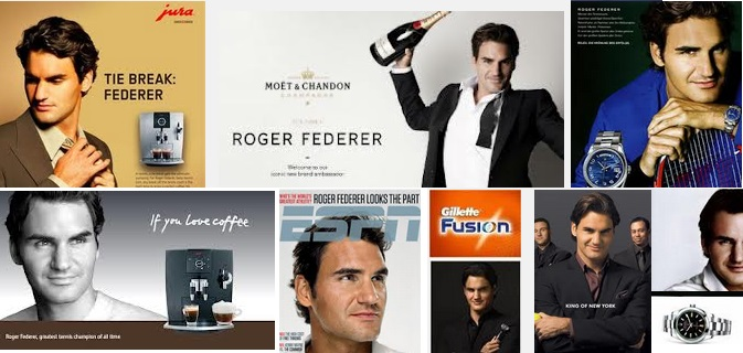 Federer Endorsement sponsorship