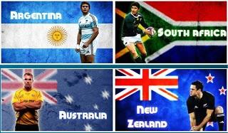 Australia vs New Zealand vs South Africa