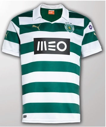 Sporting puma home kit 2014