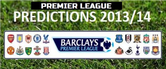 Premier League top 4 predictions