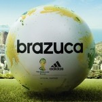 Official Adidas Brazuca Ball World Cup 2014