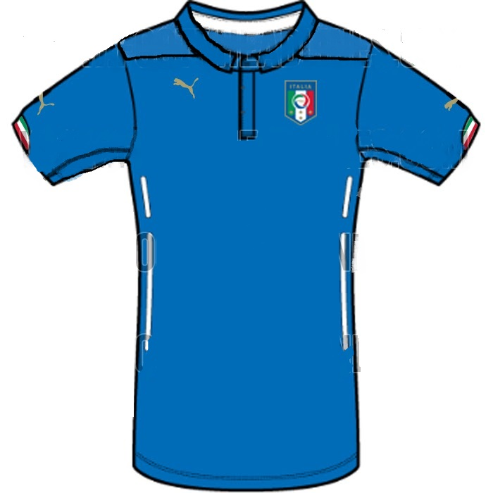 Italy Kit FIFA World CUp 2014 Leaked