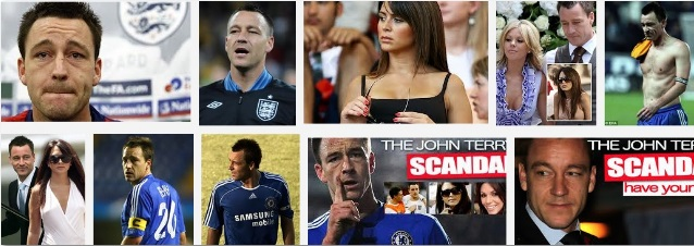 John Terry Scandal list