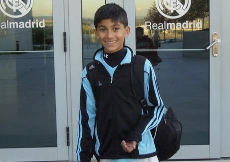 Joshua Pynadath real madrid player