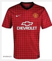 Manchester United Chevrolet kit details