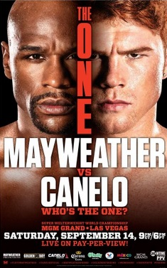 Mayweather vs Canelo SHowtime PPV Price