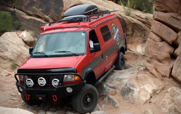 Sportsmobile Ultimate Adventure Vehicle features