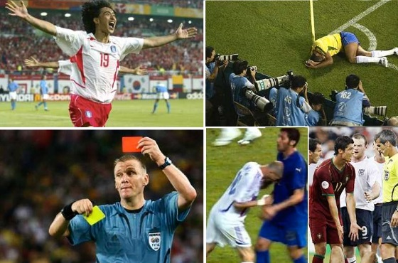most controversial fifa world cup moments