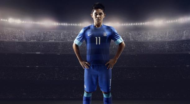 India Nike football kit 2013