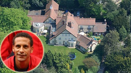 Alderley Edge mansion of Rio Ferdinand