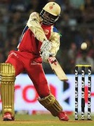 Chris Gayle six