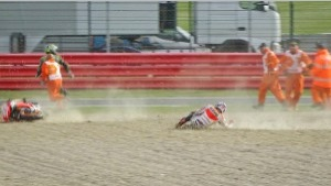 Marc Marquez  crash video