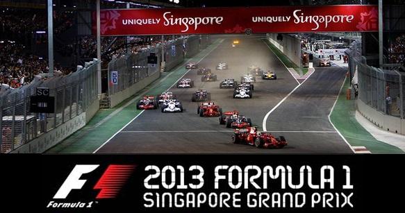 Formula 1 Singapore GP live Stream