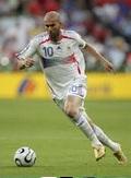 Zidane free kick