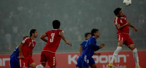 Nepal vs Afghanistan Live Stream 2013 Semifinal SAFF Football
