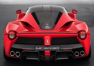 ronaldo la Ferrari