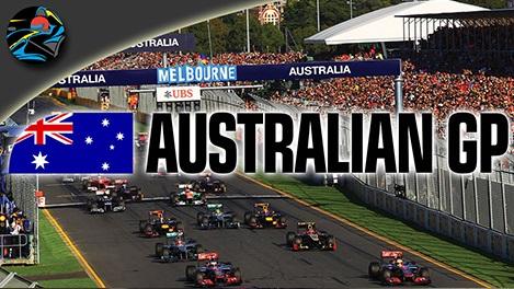 Australia Grand Prix 2014 Schedule
