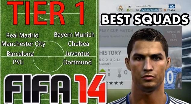 FIFA 14 Seasons Online win div 1 title