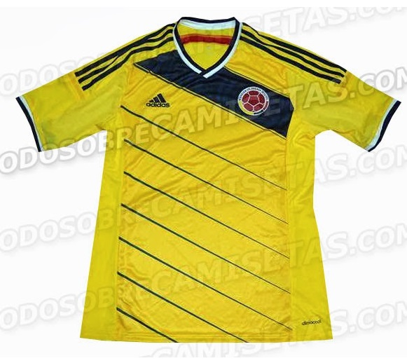 Colombia Kit FIFA World Cup 2013 home and away