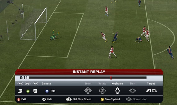 FIFA 14 goal replay video upload on youtube