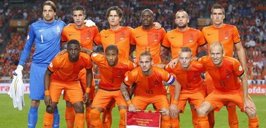 Holland FIFA World Cup 2014 Team Squad