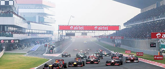 Indian F1 GP Live Stream
